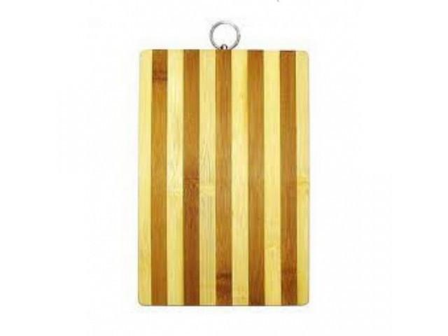 Доска разделочная деревянная бамбук 830-17B-3 * 25042