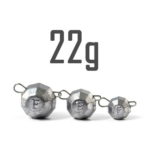 """Груз """"Гранёный"""" 22 гр. Свинцовый (5 шт.) Fanatik"""