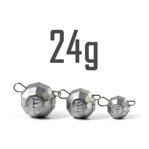 """Груз """"Гранёный"""" 24 гр. Свинцовый (5 шт.) Fanatik"""