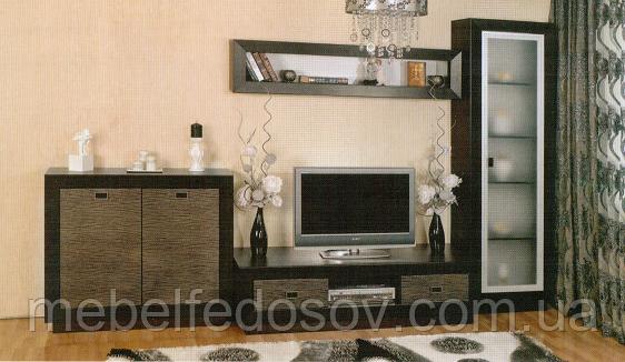 """Мебель для гостиной """"Корвет"""", золотая лоза (БМФ)"""