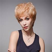 13 colols короткая сторона взрыва парик человеческих волос Remy девственницы моно топ монолитным холодные парики - 1TopShop