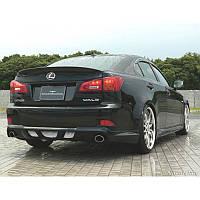 Накладка на задний бампер (Wald) Lexus IS