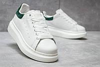 Кроссовки женские Alexander McQueen Oversized Sneakers, белые размеры в наличии ► [  37 (последняя пара)  ]