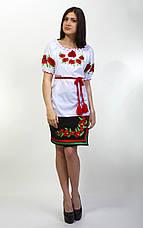 """Вышиванка женская """"Еко-мак""""короткий рукав, фото 2"""