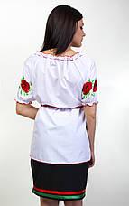 """Вышиванка женская """"Еко-мак""""короткий рукав, фото 3"""