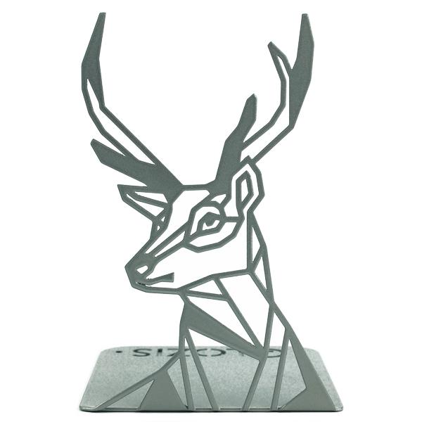 Упор для книг Glozis Deer G-037 19 х 12 см