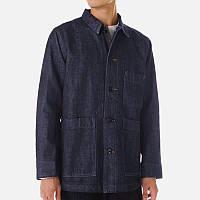 Multi Big Pockets Однобортная джинсовая куртка Рабочая одежда для мужчин 1TopShop