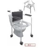 Кресло-туалет КТП предназначен для инвалидов и больных с нарушением функций опорно-двигательного аппарата при их самообслуживании и уходе за ними в учреждениях социального обслуживания и в быту.