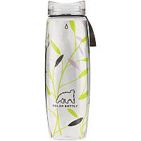 Термобутылка Polar Bottle Ergo Graphic (650мл), leaves