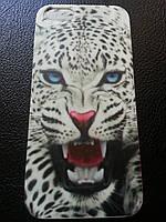 Силиконовый чехол c леопардом для Iphone 5/5S