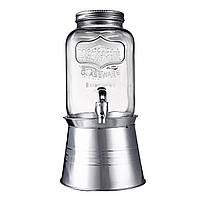4LDrinkDispenserGlassБанкаи Утюг-станция Диспенсер для напитков для воды Home Party Kitchen Инструмент 1TopShop