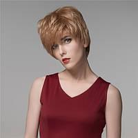 Человеческие волосы Remy девственницы парик средней длины моно топ прохладно сторону взрыва женские 14 цветов - 1TopShop