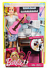 Кукла Барби рок-музыкант с гитарой и пианино Шарнирная Barbie Music Musician, фото 5