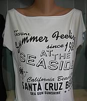 Футболка женская надписи Santa Cruz