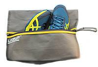 Сумка для спортивной обуви и аксессуаров LiveUp, цвет: cерый, размер: L/XL