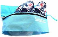 Сумка для спортивной обуви и аксессуаров LiveUp, цвет: голубой, размер: S/M