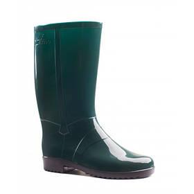 Чоботи зелені гумові (ПВХ) жіночі Litma. Женские зеленые резиновые сапоги