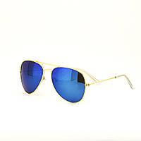 Очки TOP Aviator капли солнцезащитные Blue G