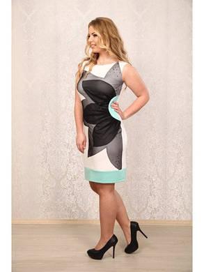 Красивое женское летнее платье (р. 48-72) арт. Лайра, фото 2