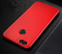 Чехол для Huawei Nova 2 Plus Clear Red