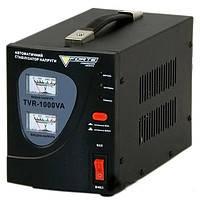 Стабилизатор напряжения  FORTE TVR-1000VA(2 аналог.дисплея)