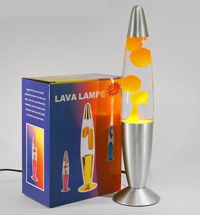 Лава лампа Wax Lamp бульки 48см