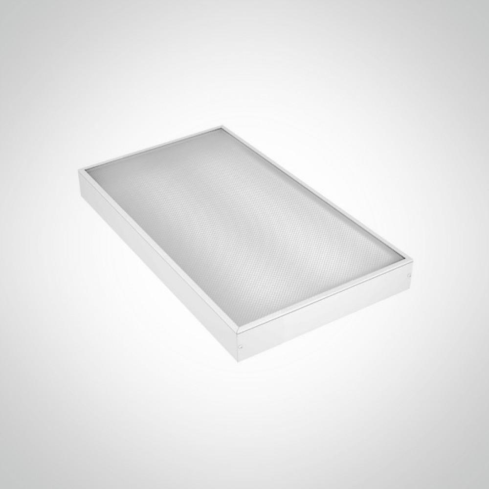 Светильник 300х600 мм 16 ВТ с призматическим рассеивателем