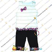 Турецкий летний костюм для девочки от года до 4 лет (3391)
