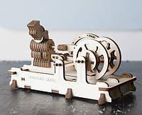 """Детский механический конструктор -  """"Двигатель""""  из дерева, фото 1"""