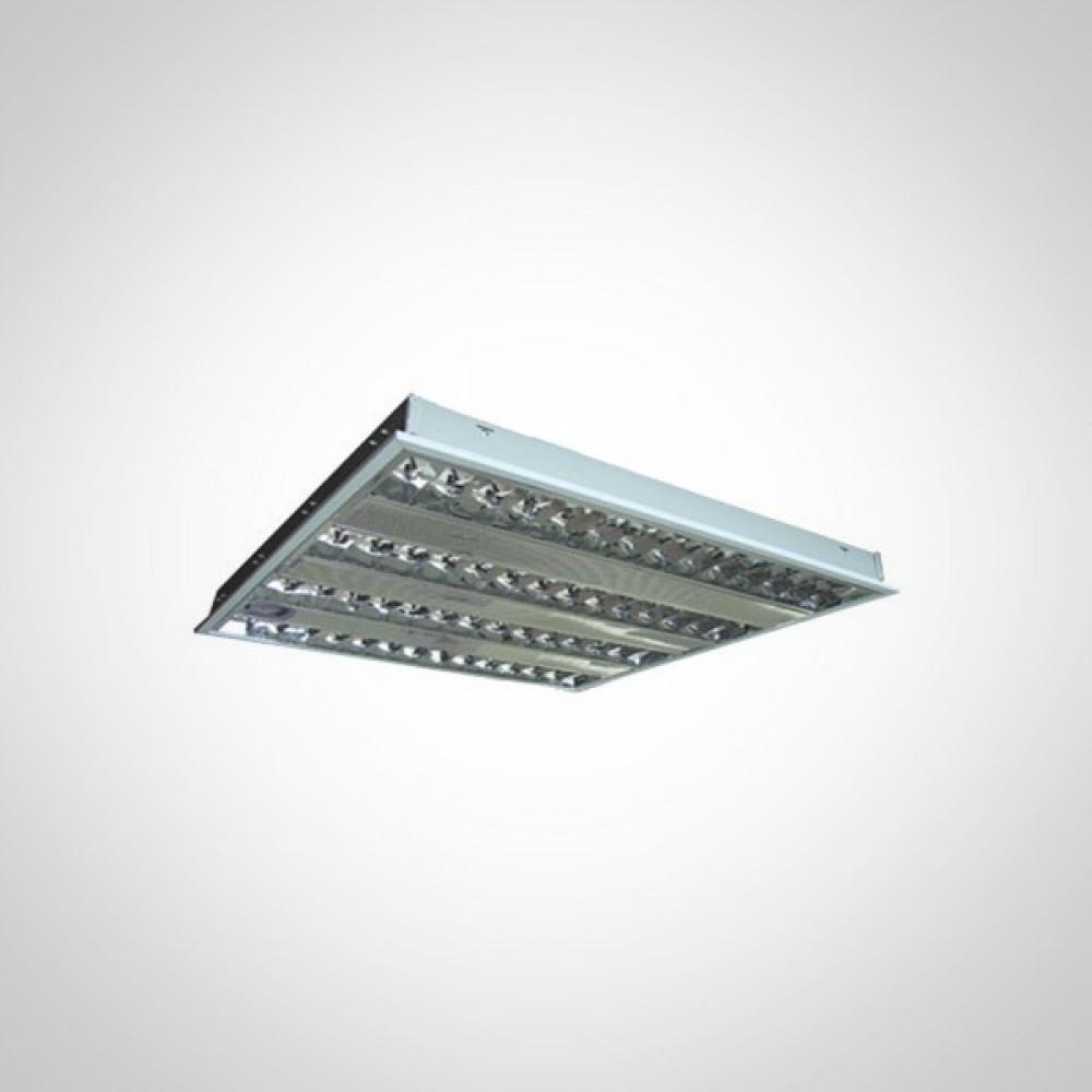 Светодиодный светильник 24 ВТ с растровой решеткой