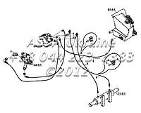 Схема гидроусилителя руля Е1-2-1