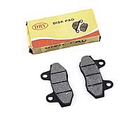 """Колодки тормозные (диск) 4T GY6 50-150 """"DRY"""" (под двухпоршневой суппорт)"""