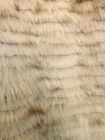 Пластина лиса расшитая св.лиловый 120*60 см Италия, фото 1