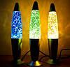 Лава лампа с блестками 42см