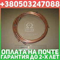 ⭐⭐⭐⭐⭐ Трубка тормозная ГАЗ 53 (медь, 6-ми трубочный к-кт,D трубки=6мм) (пр-во Украина)