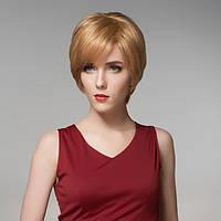12 цветов прямо короткая сторона взрыва парик человеческих волос Remy девственницы моно топ монолитным - 1TopShop