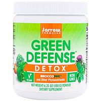 Детоксикация организма, Green Defense Detox, Jarrow Formulas, 180 г