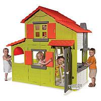 Домик двухэтажный с кухней и звонком Smoby 320021