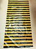 Пластина угорь одежный черный/оранж глянец 160*55 см