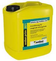 Грунтовка на основе синтетич. вещества Вебер.Прайм 801(Еуролан ТЖ 2) / Weber.prim 801(Eurolan TG 2) уп.30л