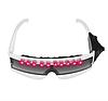Лазерные очки Noblest Art  для  световых шоу, спецэффектов Белые (LY3084)