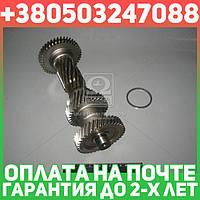 ⭐⭐⭐⭐⭐ Вал промежуточный КПП ГАЗ 3302 5 ступенчатая без подшипника (блок шестерен) (производство  ГАЗ)  3302-1701310