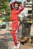 Женский спортивный костюм Adidas красный