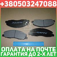 ⭐⭐⭐⭐⭐ Колодки тормозные ГАЗель NEXT передние (комплект 4шт.) (производство  Dafmi)  D517SM