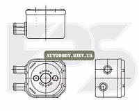 Маслянный радиатор Ауди (Audi)DI A4 95-99 (B5)/A6 97-05 (C5) производитель NRF