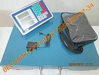 Весы Nokasonic TCS-R-2 Wi-Fi 300кг 500х400мм (дел. 50 и 100г), фото 1