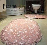 Набор велюровых ковриков для ванной Estima pudra