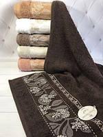 Махровые полотенца лицевые набор 6шт. SWEET DREAMS Karanfil yapragi