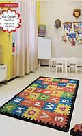 Ковер детский безворсовый Chilai Home 100 х 160 см., Puzzle