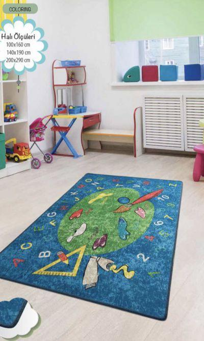 Ковер детский безворсовыйChilai Home 140 х 190 см., Coloring
